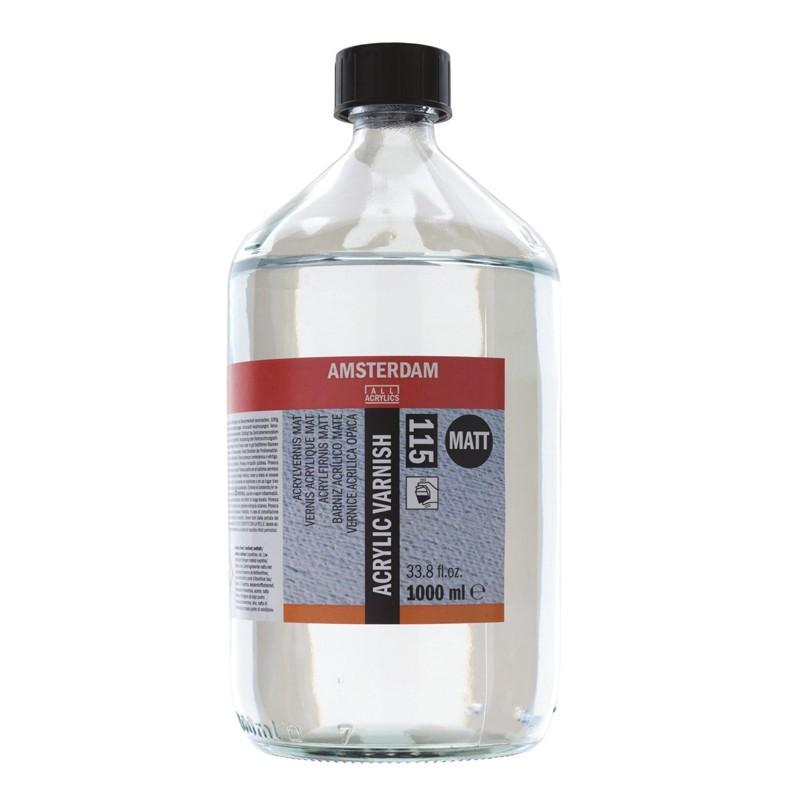AMSTERDAM acrylic varnish - lak matný 1000 ml