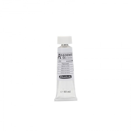 AKADEMIE oil Titanium white 60 ml