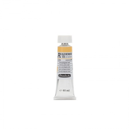 AKADEMIE oil Naples yellow light 60 ml