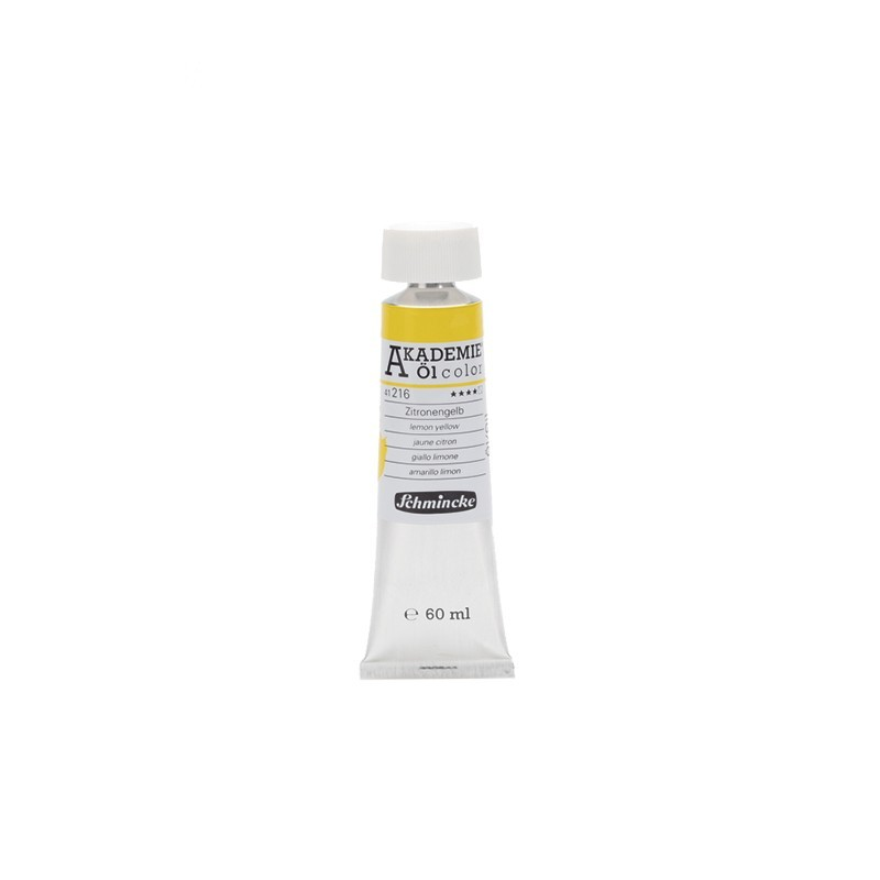 AKADEMIE oil Lemon yellow 60 ml