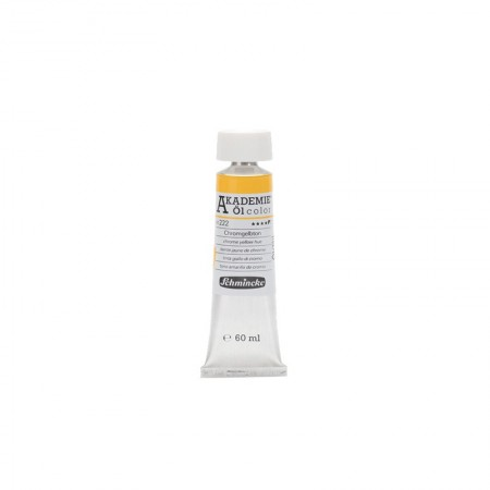 AKADEMIE oil Chrome yellow hue 60 ml