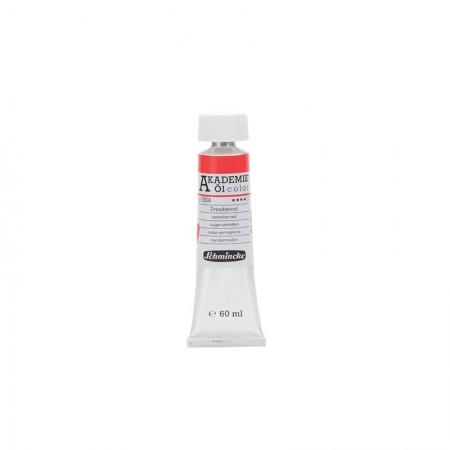 AKADEMIE oil Vermilion red 60 ml
