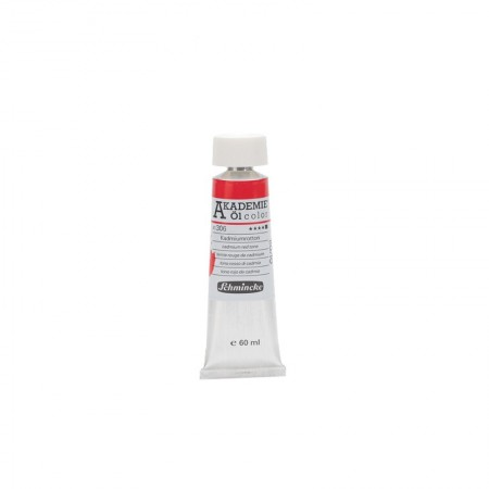 AKADEMIE oil Cadmium red hue 60 ml
