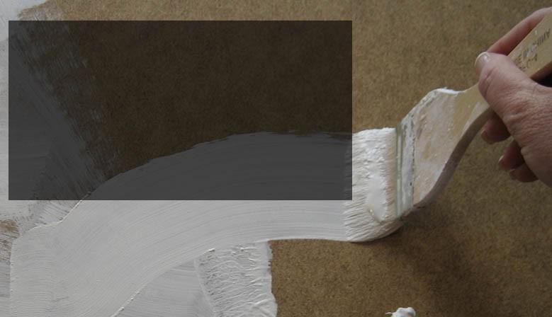 Šepsy - podkladové barvy