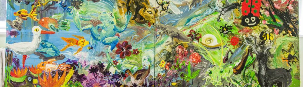 Malířské plátno - ukázka